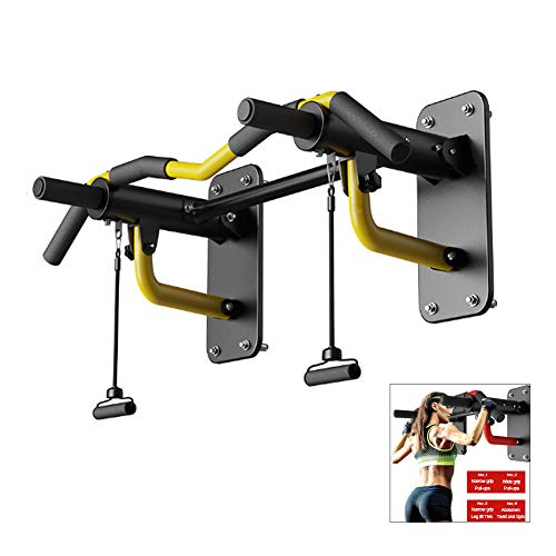 Amazing Deal WGXY Pull-Up Bars,Wall-Mounted Chin Up Bar, Folding Resistance Band Exercise Horizontal...
