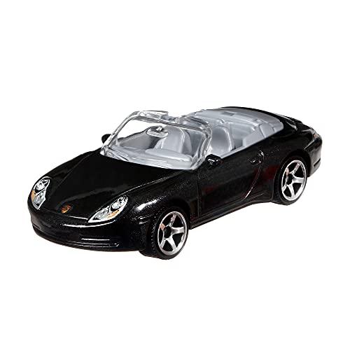 Matchbox Porsche 911 Carrera Cabriolet Coche de juguete de metal de colección (Mattel HGK94)