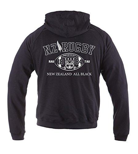 Dirty Ray Rugby New Zealand All Black Herren Übergangs Sommer Hoodie BL2 (M)
