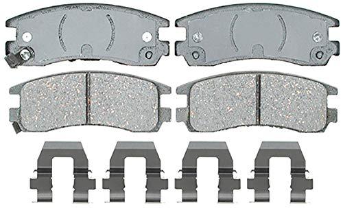 ACDelco Silver 14D698CH Ceramic Rear Disc Brake Pad Set