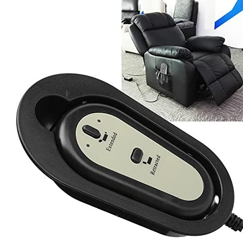 Xndz Controlador de sofá, Controlador de botón de sofá Duradero, 2 Botones, 5 Pines eléctricos para sillones reclinables eléctricos para sillas Elevadoras
