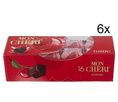 Mon Cheri - Bombón de cereza con licor - [3 cajas x 16]