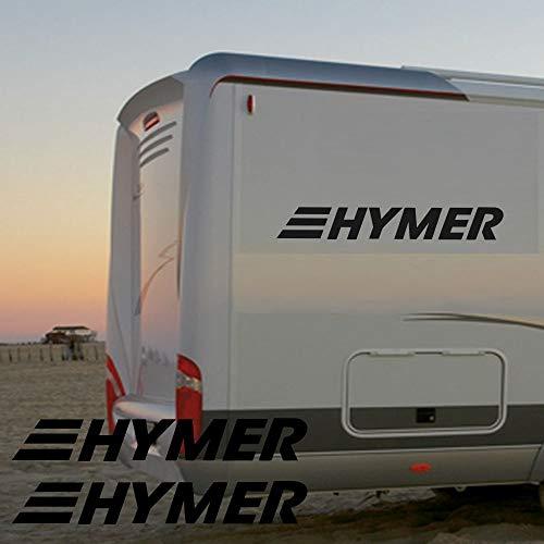 Pegatina Promotion Wohnmobil Wohnwagen Aufkleber 2X Schriftzug HYMER je ca 70cm WOMI WOWA Camping