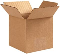 100 6x6x6 Packing Shipping Boxes Cartons