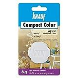 Knauf Compact Colors Farb-Pigmente – Pigment-Pulver zum Einfärben von Putz, nicht staubend, hoch konzentriert und wischfest, Ingwer, 6-g