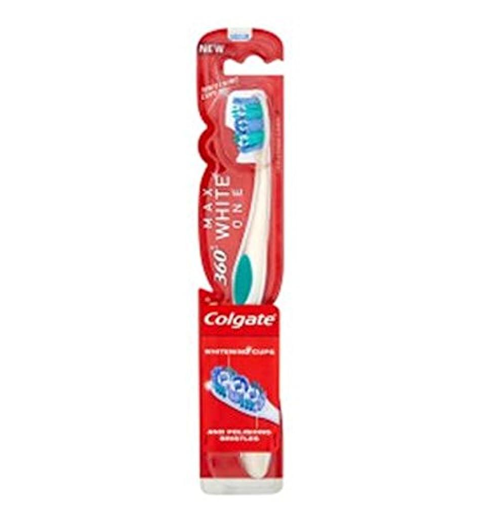 アトラス特徴づけるケーブルカーコルゲートマックスホワイト歯ブラシ (Colgate) (x2) - Colgate Max White Toothbrush (Pack of 2) [並行輸入品]