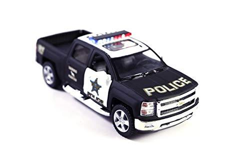 2014 Chev Silverado 4x4 911 Emergency Rescue - Protect and Serve - Police K9 Truck Diecast Model Toy Car