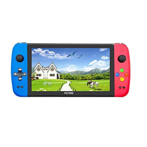 RETYLY X2 Handheld-Spielekonsole, 7-Zoll-Doppel-HD-Retro-Spielekonsole mit gro?em...