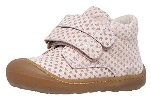 Clic! 9294 Lauflernschuhe Babyschuhe, Unisex - Baby, Pink (Rosa Sterne), EU 22