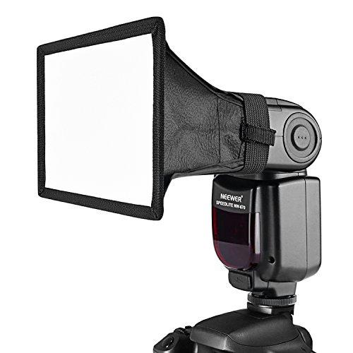Neewer 15x12,5cm Soft Box Traslucido per Flash su Canon Nikon ed Altre Fotocamere DSLR, Flash Neewer TT560 TT850 TT860 NW561 NW670 VK750II