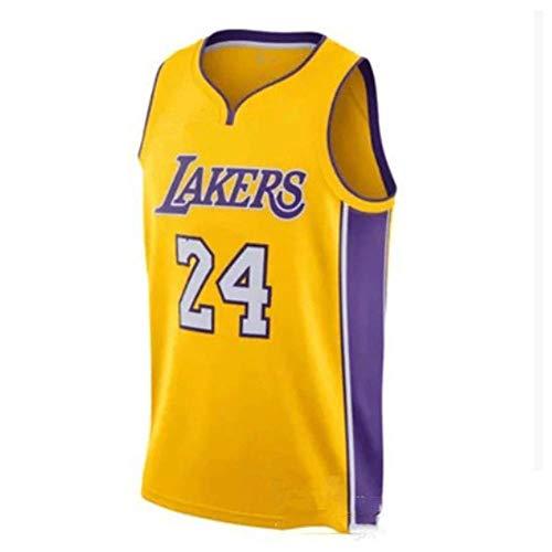 LinkLvoe NBA Jersey Trikot Lakers # 24 Kobe Bryant Retro Basketball Sommer Trikot, Fan Trikot, ärmellose Sportbekleidung, atmungsaktive Sportbekleidung Memorial Kobe Fans, verpassen Sie Nicht S-XXL