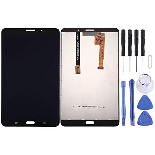 jingtingmy Correggere Le Parti del Telefono rinnovare Schermo LCD e Digitizer Assembly Completo per Galaxy Tab A 7.0 (2016) (Versione 3G) / Accessorio T285 (Color : Black)
