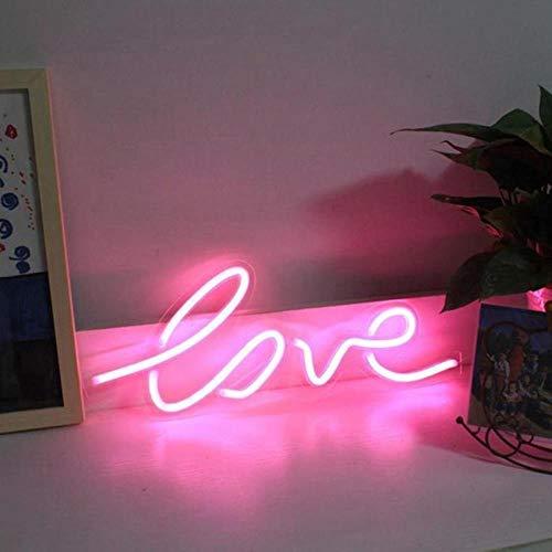 Sfeer Neonlichtbalk Nachtlampje Acryl Decoratieve lamp Handwerk Trouwdoos Neonbord Feest Hangende geschenken Verjaardag Prikbord, Liefde 2