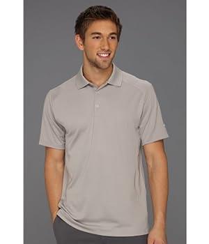 NIKE Golf Men s Victory Polo Pewter Grey/White Polo Shirt 3XL