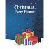 Christmas Planner: Christmas Party Planner | Everything you need for an Organizer Christmas, budget tracker, gift list, online order tracker, Black Friday preparation, menu planners, gift lists