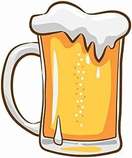 Bhai Please Beer Glass Wooden Fridge Magnet