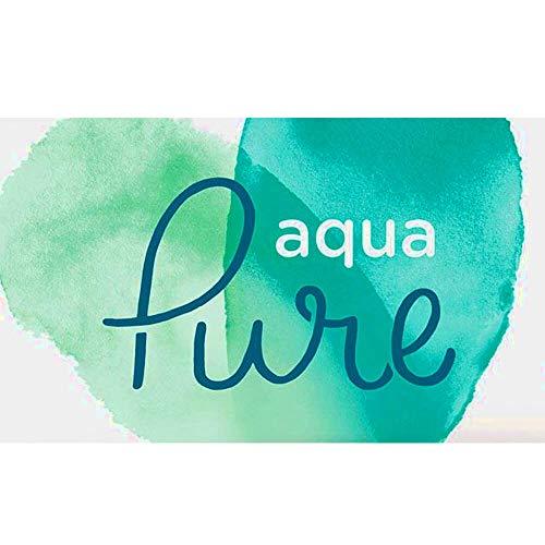 12 Stück Pampers Baby Feuchttücher Aqua Pure, Mit 99% Purem Wasser, ohne Parfüm und Alkohol, dermatologisch gestestet, praktische Reisegröße
