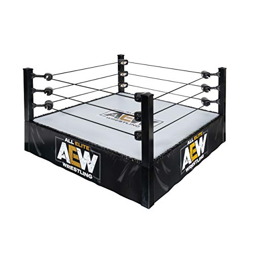 AEW All Elite Wrestling Unrivaled Action Ring Toy Wrestling Ring