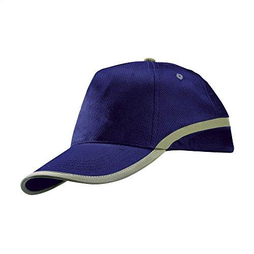 eBuyGB Unisex High Viz Baseball Cap Sicherheit Arbeitskleidung Gr. M, blau