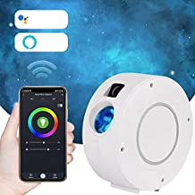 Nebula Galaxy Star Projector Smart Sky LED Multi-Color Moving Star Cloud Night Light APP & Voice Controlled Works w. Alexa...