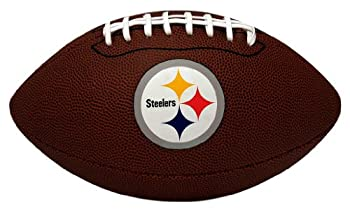 NFL Game Time Full Regulation-Size Football Pittsburgh Steelers