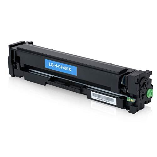 5 Logic-Seek Toner kompatibel mit HP CF400X CF401X CF402X CF403X für HP Laserjet Pro MFP M277dw M277n M274n M252dw M250 Series - 201X - Schwarz je 2.800 Seiten, Color je 2.300 Seiten