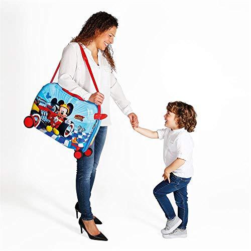 Disney Lets Roll Mickey Kindergepäck 50 centimeters 39 Mehrfarbig (Multicolor) - 7