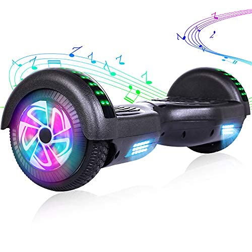 EPCTEK Hoverboard, 6.5 inch Selfing Balancing Scooter with Bluetooth Speaker for...