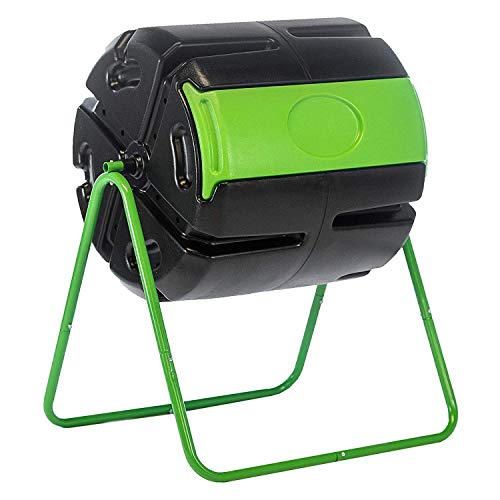 Lowest Price! FCMP Outdoor HF-RM4000 HOTFROG Roto 37 Gallon BPA Free Plastic Rotating Tumbling Spinn...