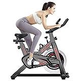 DnKelar Heimtrainer Fahrrad für zuhause, Heim Sitzfahrrad mit Digitaler Monitor, Multifunktionaler Fahrradtrainer Beintrainer mit 5 einstellbare Sitzhöhen, Fitness Bike 120 kg Belastbar