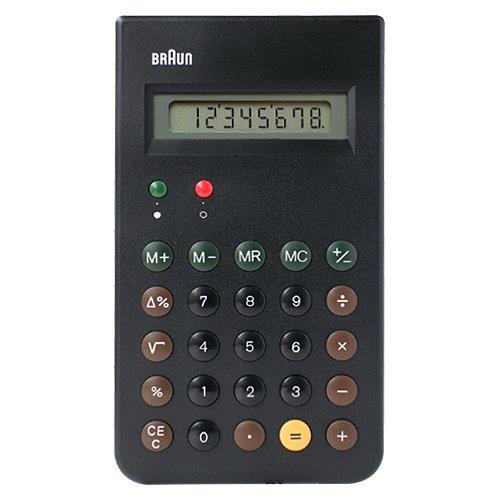 BRAUN ( ブラウン )「 Calculator ( 電卓 ) BNE001 」ブラック BNE001BK