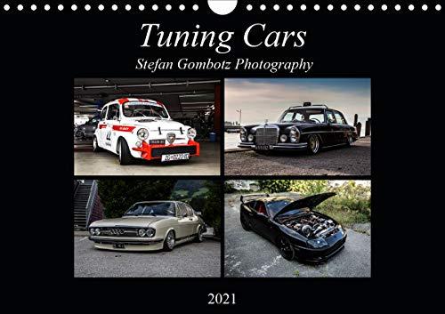 Tuning CarsAT-Version (Wandkalender 2021 DIN A4 quer)