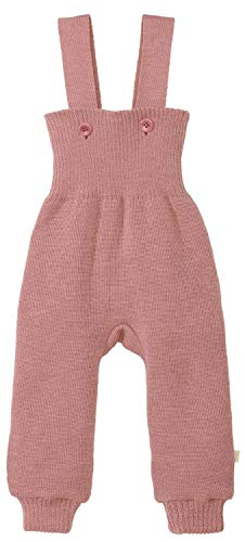 Disana Strick-Trägerhose rosé Gr.74/80