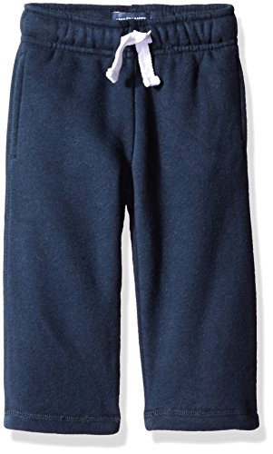 The Children's Place Baby Boys' Toddler Gym Uniform Fleece Pant, New Navy, 5T