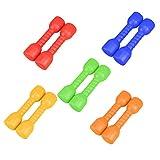 BESPORTBLE 4 Pcs Children Dumbbell Kids Plastic Hand Dumbbells Home Gym Exercise Barbell Children...