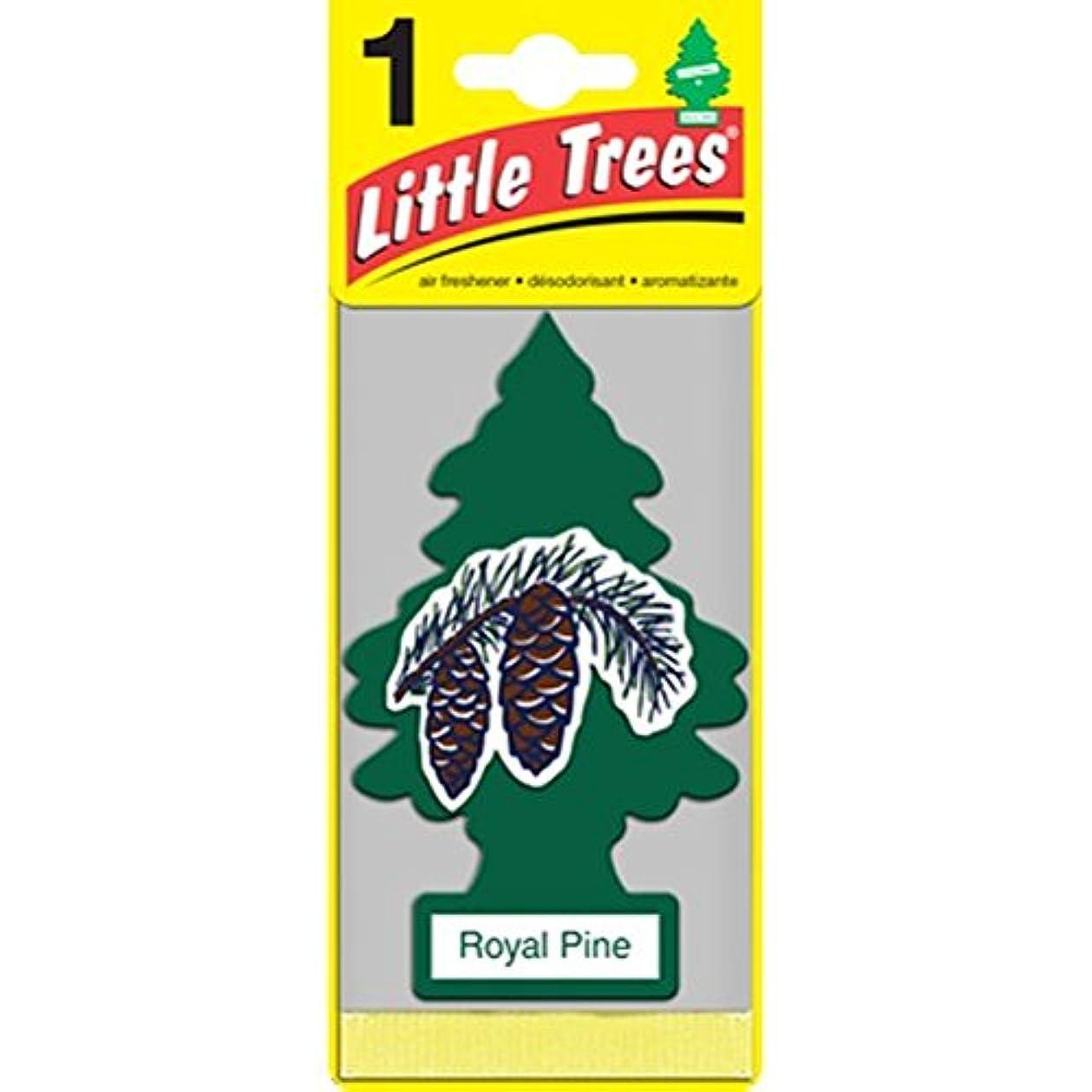 花嫁パイプライン前提条件Little Trees  Royal Pine 吊り下げタイプ air freshener 3-paks(3枚入り)