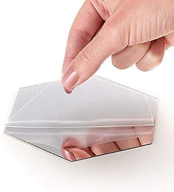 Lunics Creando Confort Acrílicos Adhesivos De Espejo Decorativos para Pared 10 Piezas