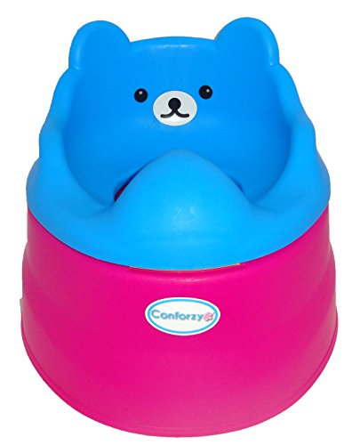 2 in 1 Teddy Potty Training Toilet Seat (Blue & Pink)