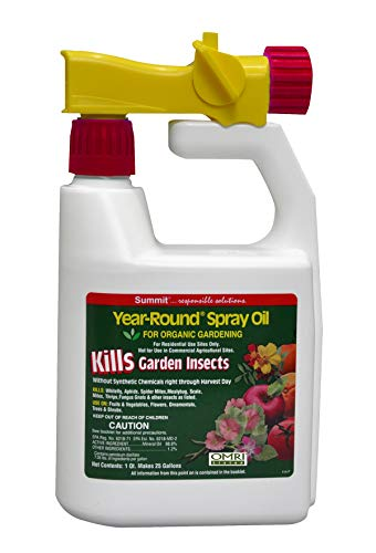 Price comparison product image Summit 121-12 Year-Round Spray Oil for Garden Insects Ready-to-Spray,  1-Quart