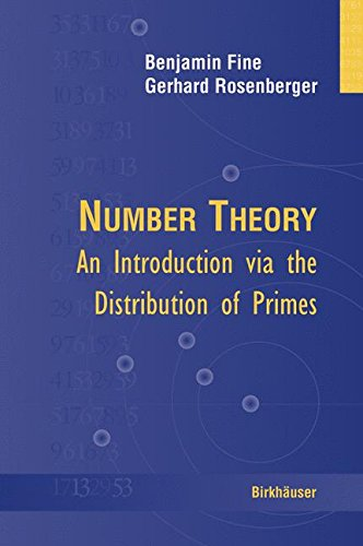 Number Theory: An Introduction via the Distribution of Primes