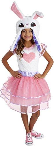 Animal Jam Enchanted Magic Bunny Girl's Costume Large 12-14
