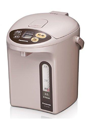 パナソニック 電気ポット 3.0L 真空断熱 省エネ保温 お好み温度調節 給湯量(2段階+コーヒー用) ベージュ NC-BJ304-C