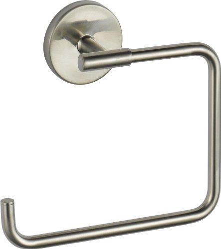 Delta Faucet Trinsic Towel Ring, Stainless, Bathroom Accessories, 759460-SS