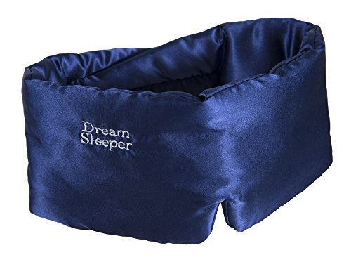 Hypoallergenic Sleep Masks for Sleeping | Chronic Migraine | | Side and Back Sleep mask | Free Lifetime Replacements. Large Straps, Silky Total Blackout mask. Dream Sleeper Mascara dormir | Women Men