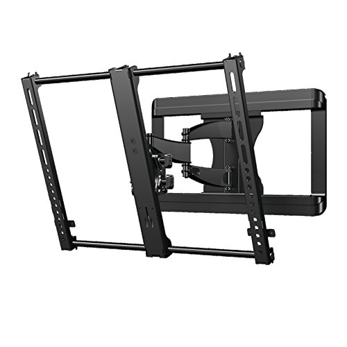 """Sanus Premium Full Motion TV Wall Mount Bracket for 37""""-50"""" TVs Features 15º of Tilt, 90º of Swivel, Post Install Centering - Vmf620-B1"""