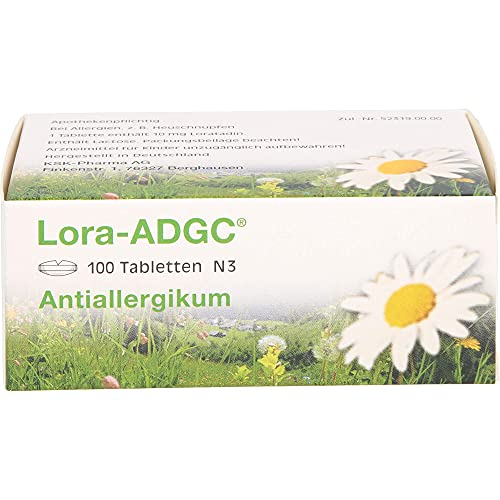 KSK-Pharma Vertriebs AG, Deutschland -  Lora ADGC Tabletten,