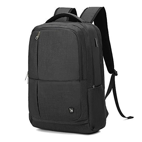 OIWAS Laptop Backpack 17 Inch For Men Business 17.3 Inch Bagpack Women Travel Daypack Large College School Bookbag Teens(Black)