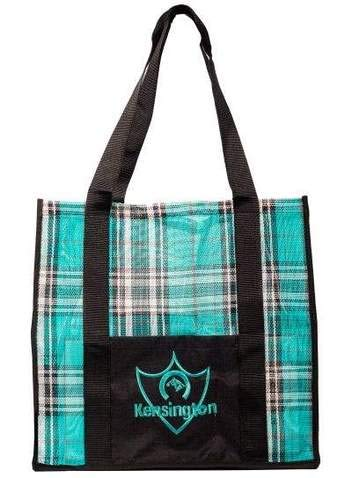 """Kensington Large Tote — Roomy 16"""" L x 17"""" W x 12"""" H — Features Nylon Web Handles and Front Pocket"""