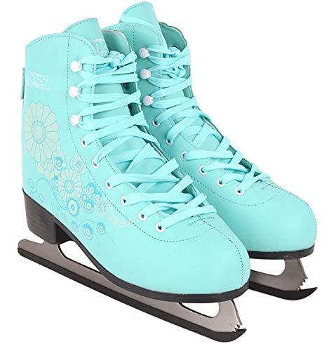 Schlittschuhe Eiskunstlauf # Kunstlauf Eiskunstlaufschuhe gefüttert Klassisch Damen & Mädchen EIS Sport Eislaufen NF8508 (41)