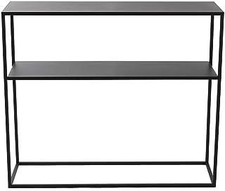 LIFA LIVING Console Meubles Industriel pour Salon, entrée Chambre ou Cuisine, Table d'appoint métal, Dimensions 100 x 30 x...